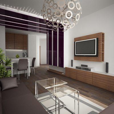 Проект на апартамент в кв. Бели брези