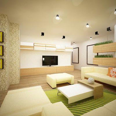 Проект на апартамент в кв. Изток