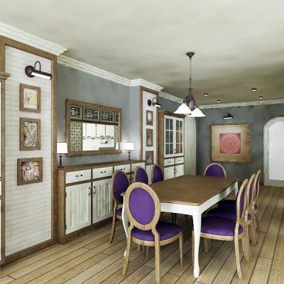 Проект на апартамент в кв. Редута