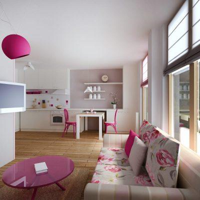 Проект на апартамент в кв. Манастирски ливади