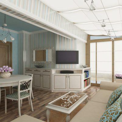Проект на апартамент в кв. Хиподрума